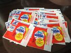 Vintage 1988 Topps Baseball Card Wax Wrapper Lot of 60 wrappers only