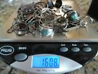 Lot Of Sterling Silver .925 Vintage Jewelry To Wear Or Scrap 160.8