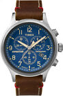 Timex Men's Expedition Chronograph 42mm Leather Strap  |Brown| Watch TWC013900