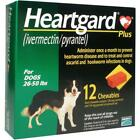 1Heartgard for Dogs 26 50 pounds 11 count