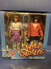 NECA BILL AND TED'S EXCELLENT ADVENTURE WYLD STALLYNS 2pk Keanu Reeves SEALED