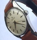 Vintage 1960s ZENITH Cal 133.8 BUMPER Automatic Chronometer StainlessSteel Watch