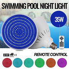 Swimming Pool Light 12V 35W RGB LED W Remote Control Park PC Cover Spas PRO