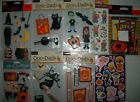 NEW HALLOWEEN STICKERS LOT JOLEES BOUTIQUE DOO DADS STRAWBERRY SHORTCAKE