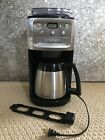Cuisinart Burr Grind and Brew Thermal 12 Cup Automatic Coffeemaker DGB 900BC