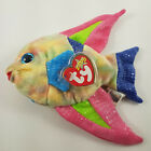 Ty Beanie Babies 2000 Aruba the Fish RETIRED -- MINT TAG Protected Multi Color