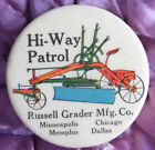 Antique 1900 RUSSELL GRADER CO. celluloid advertising vintage tape measure