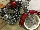 2008 Harley Davidson Softail Harley Davidson 2008 Softail Deluxe 105th Anniversary Bassani 2 into 1 Exhaust