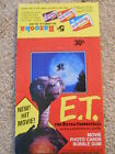 1982 Topps E.T. The Extraterrestrial - Empty Counter Display Box