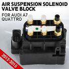 ty Valve Block Air Suspension Air Supply Fit for Audi A7 Quattro 4H0616013A Look
