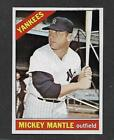 Comprehensive Guide to 1960s Mickey Mantle Cards 156