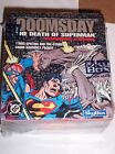 1992 DOOMSDAY DEATH OF SUPERMAN CARD UNOPENED BOX! SPECTRA INSERT! BLEEDING S!