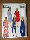 New Butterick Pattern B6226 Misses Maternity Dress Jumpsuit Leggings Sz 6-22