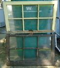 PAIR OF VINTAGE 6 PANE WINDOW FRAMES