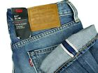 NWT LEVIS LOT 511 denim jeans premium BIG E SELVEDGE REDLINE mens 29x30 slim