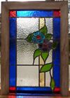 Victorian daisy stained glass window 2