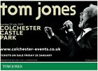 **Tom Jones Tickets** Colchester Castle Park ** 21st July 2019!** 4 Tickets!**