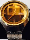 Vintage Seiko Automatic 17 Jewels Day & Date Men's Wristwatch - Working