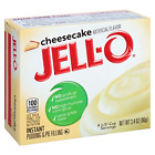 Jell-O Cheesecake Instant Pudding Mix 3.4 Ounce Box Pack of 6