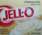 Jell-O Cheesecake Instant Pudding & Pie Filling 4-Pack