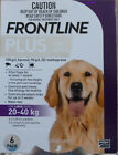 Frontline Plus for Large Dogs 45 88lbs 20 40kg 6 Pack Supply Months PURPLE