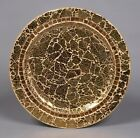 Charger Plates Mosaic on Metal Gold Table Setting 13 Diameter Set of 6