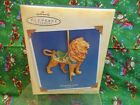 Hallmark Keepsake Ornament Majestic Lion Carousel Ride 2004 Special Edition NEW