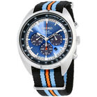 Seiko Recraft Blue Dial Canvas Strap Men's Watch SSC667