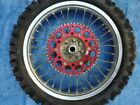 2006 06 Honda Crf250x Crf 250x Rear Wheel Assembly Rim Hub Tire Sprocket Rotor