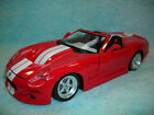 1 18 DIECAST FORD SHELBY SERIES 1 COBRA IN RED WHITE STRIPES BY BBURAGO