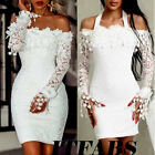 Women Formal Wedding Bridesmaid Evening Party Ball Prom Gown Cocktail Mini Dress