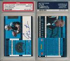 Cam Newton Panthers 2011 Playoff Contenders Rookie Ticket rC PSA 10 Auto