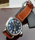 Zenith Pilot Montre D'aeronef TYPE 20  GMT Gents watch, Boxes, Immaculate