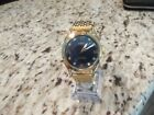 LUXURY GP  ORIS MENS WATCH WITH RICH BLUE DAIL ! 17 JEWELS ST-96 HAND WINDING