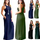 Women Boho Long Maxi Casual  Dress Evening Party Beach Dresses Summer Sundress