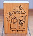 Ol Saint Nick U125 JRL Design Santa Christmas Holiday Wood  Foam Rubber Stamp