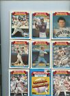 1988 Topps Woolworth Baseball Highlights Complete 33 Card Opened Box Set Mcgwire