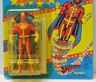 1985 Kenner Super Powers Red Tornado Action Figure 23 Back UNPUNCHED NIP
