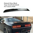 Rear Trunk Spoiler Lip Wing Gloss Black SRT Style Fit For DODGE Challenger 08-19