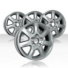 REVOLVE 16x6 Machined Outer Lip Silver Wheel for 00 04 Toyota Avalon Set of 4