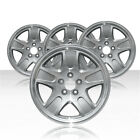 REVOLVE 17x7 Silver Wheel for 2001 2010 Ford Crown Victoria Set of 4