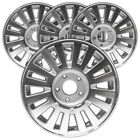 16 Machined and Silver Rim by JTE for 2006 2008 Mercury Grand Marquis Set of 4