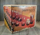 Vintage 1983 Libbey Tawny Accent Tumblers Set of 24 New In Box Never Opened