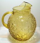 Vintage Indiana Glass Ball Style Iced Tea Water Pitcher with Ice Lip 96 oz.
