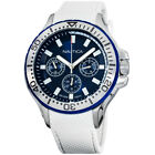 Nautica Auckland Blue Dial Silicone Strap Men's Watch NAPAUC001
