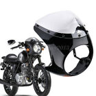 7'' Round Headlight Retro Cafe Racer Handlebar Fairing Windshield For Harley ABS