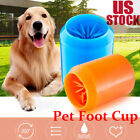 Silicone Pet Washer Cup Dog Puppy Cat Kitten Foot Paws Muddy Brush Wash Tool M L