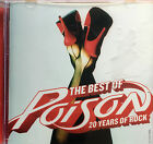 Poison The Best of Poison 20 Years of Rock CD Album in Very Good Condition