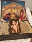 Vintage Ideal The Most Wonderful Story Paper Pop up Nativity Book 1958