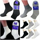 3 6 12 PAIR NEUROPATHY CIRCULATORY DIABETIC ANKLE SOCKS SIZE 9-11 10-13 13-15